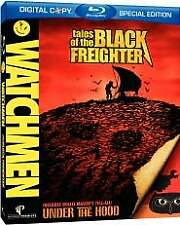 Watchmen: Tales of the Black Freighter (Blu-ray Disc, 2009) LIKE NEW