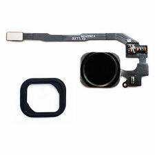 iPhone 5S Cable Flex Boton Home ID Sensor Táctil Apple Menú Tecla Goma negro