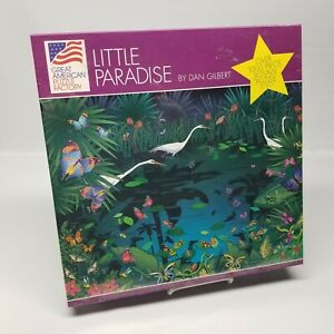 Great American Jigsaw Puzzle Dan Gilbert's Little Paradise 1000 Piece Sealed
