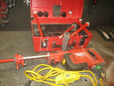 Hilti Ddec-1 Diamond Core Drill Machine & Bits