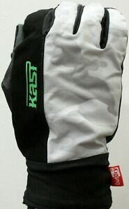 Kast Extreme Fishing Gear MX Pro Camo Gloves XXL Submersible Waterproof NWT OP