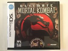 Ultimate Mortal Kombat  - Nintendo DS - Replacement Case - No Game