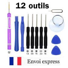 Kit démontage 12 outils SMARTPHONE & IPHONE / Tournevis Pantalobe Torx Triwing