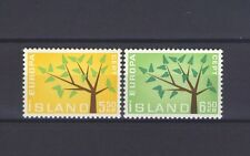 ICELAND, EUROPA CEPT 1962, TREE WITH 19 LEAVES, MNH