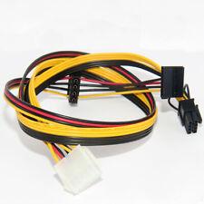 PSU 10pin to PCIe 8pin + SATA + 4pin IDE Molex Power Cable for HP SE326M1 SE316M