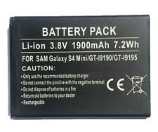 Replacement Battery 1900mAh 3.8V for Samsung Galaxy S4 Mini GT-i9190 / GT-i9195
