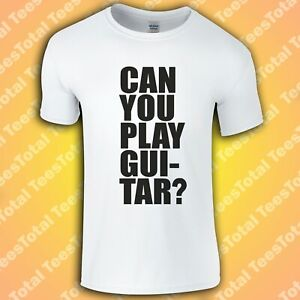 Can You Play Guitar Can You Fu*k (Courteeners) T Shirt | Indie Rock | Manchester