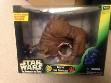 Star Wars The Power Of The Force Rancor And Luke Skywalker Beast Pack