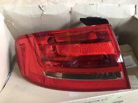 Audi A4 B8 N/S LEFT Rear Light 2008 - 2012 BRAND NEW GENUINE 8K5945095D