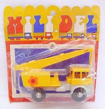 Mili Del France Berliet Crane Construction Site Truck Plastic 16cm Nmoc`65 Rare!