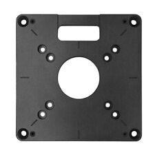 Heavy Duty Router Base Plate Universal Routing Insert Templates Woodworking Tool
