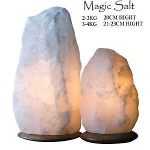 HIMALAYAN CRYSTAL SALT LAMP NIGHT DESK LAMP NATURAL IONIZER SALT LAMP SALT ROCK