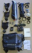 NIKON D7000 16.2 DSLR, COMPLETE OUTFIT, 3 LENSES,TRIPODS,TIMBUK2 BAG AND MORE!!
