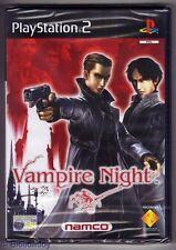 PS2 Vampire Night, UK Pal, Brand New & Sony Factory Sealed