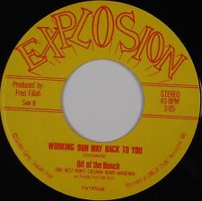 BIT OF THE BUNCH: Working Our Way EXPLOSION Modern Soul BOOGIE 45 obscure MP3