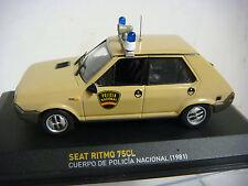 COCHE  SEAT RITMO 75CL CUERPO DE POLICIA  ESCALA 1/43(#)