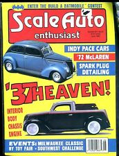 Scale Auto Enthusiast Magazine June 1990 '37 Heaven! EX No ML 122316jhe