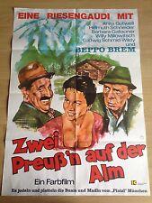 Zwei Preuß'n auf der Alm Kinoplakat Filmplakat A1 Beppo Brem, Millowitsch
