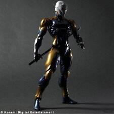 Play Arts Metal Gear Solid Gray Fox Cyborg Ninja 25cm Action Figure NEW BOXED