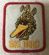 Brand New Big Bird Embroidered Iron On Patch Stitched Embroidery Jacket T Shirt