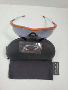 NEW OAKLEY M FRAME Polished Burnt Orange/ Dark Gray Sweep Lens RARE!