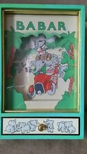 Babar Music Box Rare Original