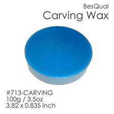 Dental Meta Carving Wax (Blue | 100g/3.5oz | 3.82 x 0.835 inches