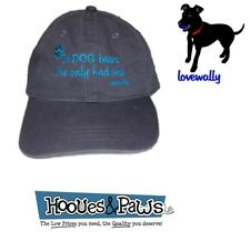 Dog Pet Lover Beer Hat IN DOG BEERS I'VE HAD ONE Gray Embroidered LoveWally