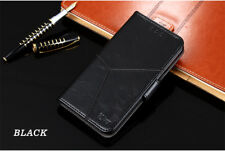 Black  Handmade Luxury  Leather Flip Case Cover For OnePlus 5 / One Plus Five