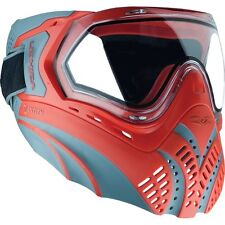 New Valken Identity Thermal Paintball Goggles Mask - Red / Grey