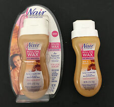 Roll On Milk and Honey Wax Women by Nair, 5.7 Ounce 2 bottles lot