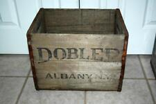 Dobler Brewing Co Ale Beer Wood Bottle Shipping Crate Albany NY New York