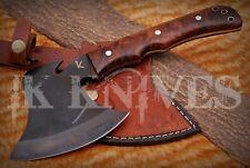 2302 CUSTOM MADE 1095 STEEL SURVIVAL TOMAHAWK THROWING AXE KNIFE | FULL TANG