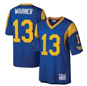 Kurt Warner Los Angeles Rams Mitchell & Ness Replica Jersey
