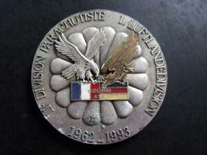 Médaille de Table . 11° Div. Parachutistes - 1° Luftlandedivision . COLIBRI