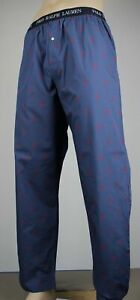 POLO Ralph Lauren Blue Multi Pony Pajamas Lounge Sleep Pants
