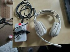 Astro A40 TR Headset with MixAmp Pro TR - White  Xbox One - PC (Read)