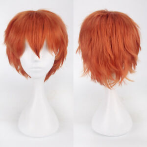 For Cosplay Girl Long Short Curly Wavy Straight Full Hair Wig Natural Wigs Party