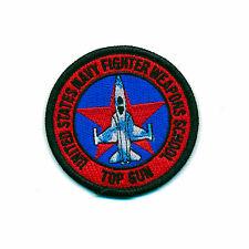 65 MM USA Top Gun Navy Fighter Weapons School US PATCH RICAMATE aufbügler 0900 B