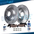 Front Drilled Brake Rotors + Brake Pads for Honda Civic Del Sol CRX Civic