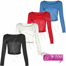 Scoop Neck Regular Fitted Casual Tops & Shirts for Women