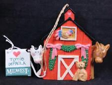 Vintage Tomie Depaola Midwest of Cannon Falls Barn Farm Animals Ornament