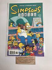 Simpsons #171 Bongo Comics Nm Texas Chainsaw Massacre Htf