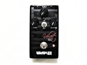 Used Wampler Velvet Fuzz Guitar Effects Pedal