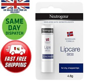 Neutrogena Lip Care Stick Balm SPF 20 (4.8 g) Chapped Dry Soothes Soft Shine