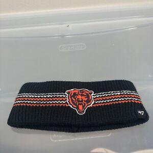 Chicago Bears 47 Brand Women's Winter Headband. New NWT Blue Cap. NFL