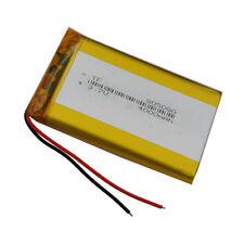 3.7V 4000 mAh Polymer Li Battery Li-po For GPS PDA iPAQ  PSP Tablet PC 805080