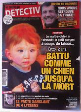 DETECTIVE du 4/4/2012; Dupont de Ligonnes/ Le pacte sanglant de 4 Lycéens