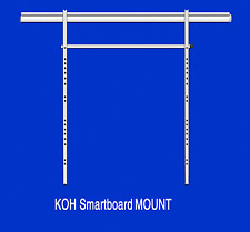 Smart board wall mount for interactive whiteboards