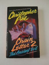Book - Chain Letter 2 The Ancient Evil By Christopher Pike 1992